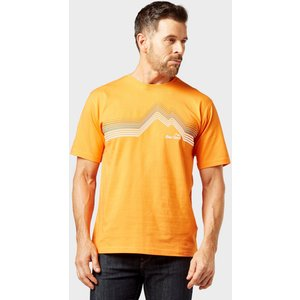 Peter Storm Men's Retro Tee - Orange, Orange 103037 Mens Tops, Orange