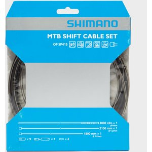 Shimano Mtb Stainless Steel Gear Cable Set - Assorted, Assorted 77372 Mens Sportswear, Assorted