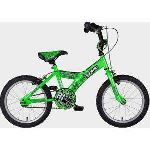 """Sonic Kids Robotic 16"""" Bike - Green/green, Green/green 16116689 Cycling, Green/Green"""