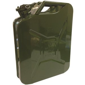 Streetwize 5l Fuel Can (unleaded Petrol) - Green/grn, Green/grn 15987939 Outdoor Adventure, Green/GRN