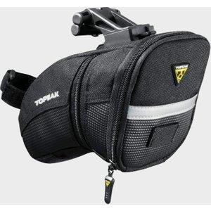 Topeak Aero Wedge Quick Clip Saddle Bag (medium) - Black, Black 78245 Cycling, Black