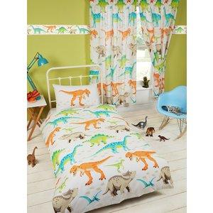 Dinosaurs Dinosaur World Junior Toddler Duvet Cover & Pillowcase Set Duv772 Home Textiles