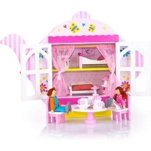 Leomark Teapot Wooden Dolls House 102 241207