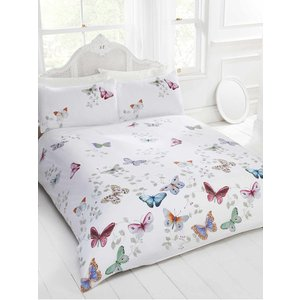 Mariposa Butterfly Single Duvet Cover And Pillowcase Set Rap029 Home Textiles