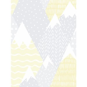 Not Specified Over The Rainbow Mountains Wallpaper Yellow Holden 91050 Hld264 Painting & Decorating