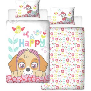 Paw Patrol Bright Single Duvet Cover And Pillowcase Set Paw165 Home Textiles