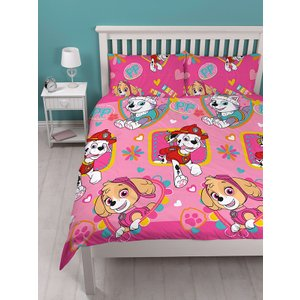 Paw Patrol Forever Double Duvet Cover And Pillowcase Set Paw107 Home Textiles