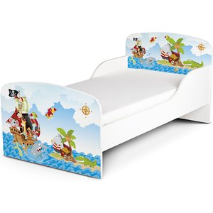 Pricerighthome Pirates Toddler Bed With Deluxe Foam Mattress Prh005 Mat003 Beds