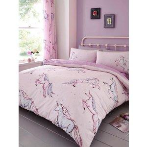 Star Unicorn Single Duvet Cover And Pillowcase Set Taa090 Home Textiles