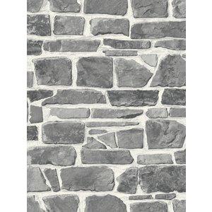 Stone Wall Wallpaper Grey Rasch 265620 Ras060 Painting & Decorating