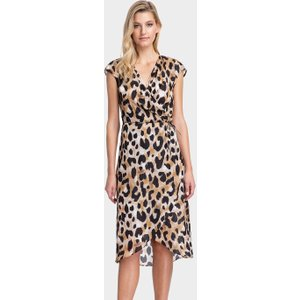 Gottex Kenya Wrap Dress - Multi Brown, Brown