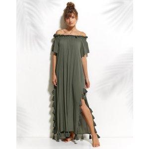 Watercult Maxi Dress - Faded Army, Green