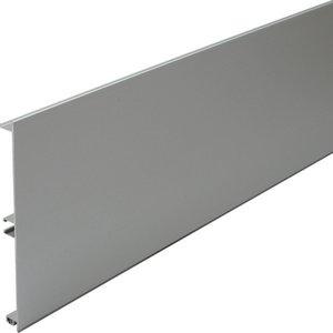 Hafele 145mm Aluminium Plinth Panel - 3 Metre Length Com 13093