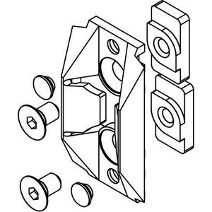 Hafele Centreing Door Stop Com 4601