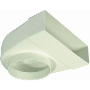 Hafele Cooker Hood Connector To Flat Duct, For System 4 & 5 Com 3442