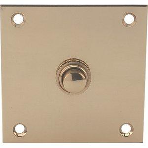 Hafele Large Plate Vintage Style Door Bell / Reception Desk Button Com 3171