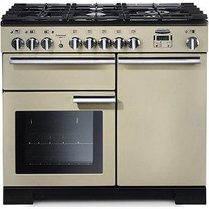 Hafele Rangemaster Professional Deluxe 100 Range Cooker, 1000 Mm, Dual Fuel Com 9702