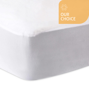 The Fine Bedding Company Luxury Fleece Mattress Protector P1pfnflxxk