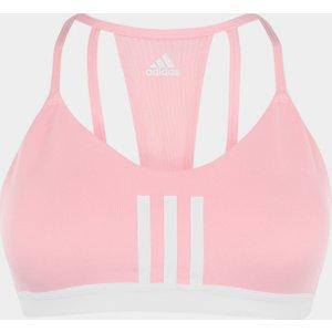 Adidas 3 Stripe Mesh Bra Ladies Glorypink/white 393640 S 341792, GloryPink/White