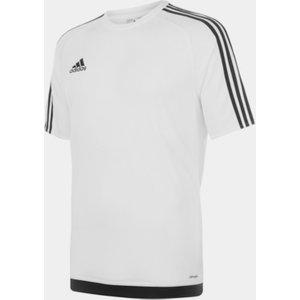 Adidas 3 Stripe Sereno T-shirt Mens White/black 110898 Xl 623106, White/Black