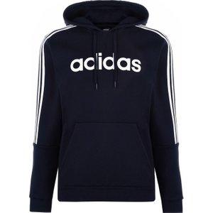Adidas 3 Stripes Logo Over The Head Hoody Mens Navy/white 233471 Xl 533035, Navy/White