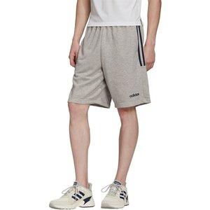 Adidas 3s Jersey Shorts Mens Medgrey/blue 101225 L 473015, MedGrey/Blue