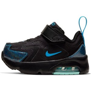 Nike Air Max 200 Infant Boys Black/blue/grn 399324 6k 021042, Black/Blue/Grn