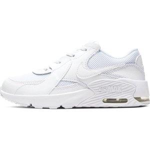 Nike Air Max Excee Trainers Boys Triple White 393266 1 031169, Triple White