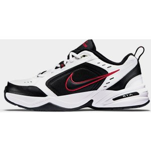 Nike Air Monarch Trainers Mens White/black/red 155847 9 131074, White/Black/Red