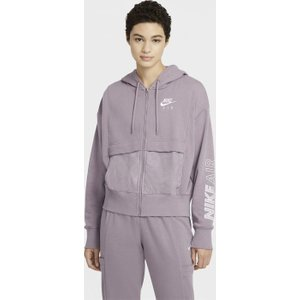 Nike Air Womens Full Zip Top Purple 555508 5dbc 665031, Purple