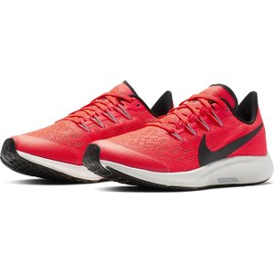 Nike Air Zoom Pegasus 36 Junior Girls Running Shoes Red/black 252052 3 217212, Red/Black