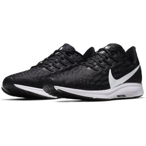Nike Air Zoom Pegasus 36 Mens Running Shoes Black/white 255044 11 211793, Black/White