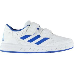 Adidas Alta Sport Cf Child Boys Trainers White/blue 233271 12k 032000, White/Blue