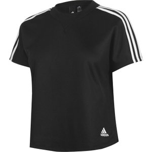 Adidas Attitude T Shirt Ladies Black 286526 L 650303, Black