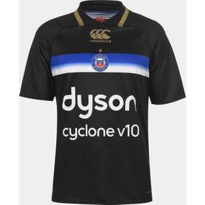 Canterbury Bath Rugby 2019 2019 Pro 3rd Shirt Mens Black 373650 2xl 389065, Black
