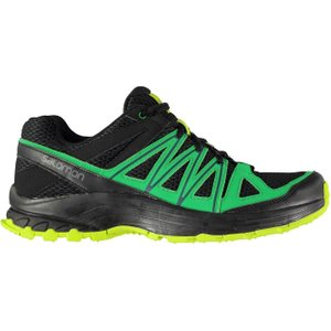 Salomon Bondcliff Mens Trail Running Shoes Phantom/green 228520 11 213361, Phantom/Green