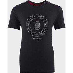 Canterbury British And Irish Lions Graphic T Shirt Junior Black 400575 S 384510, Black