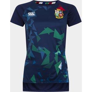 Canterbury British And Irish Lions Superlight Graphic T Shirt Ladies Marine/blu/yell 148339 Xs 385367, Marine/Blu/Yell