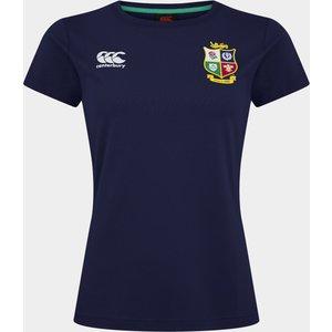 Canterbury British And Irish Lions T-shirt Ladies Marine/fp/sblue 274085 Xs 385425, Marine/FP/SBlue