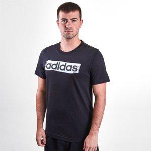 Adidas Brush T Shirt Mens Black 61397 S Dv3046, Black
