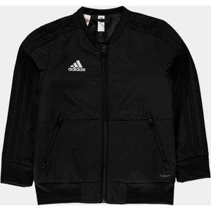 Adidas Condivo Presidential Kids Jacket Black/white 361469 S 553921, Black/White