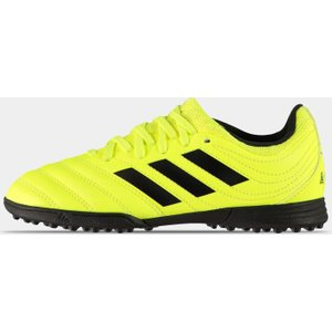 Adidas Copa 19.3 Junior Astro Turf Trainers Solyellow/black 275252 5 086319, SolYellow/Black