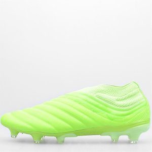 Adidas Copa 20 Plus Mens Fg Football Boots Signal Green 372411 8 201019, Signal Green