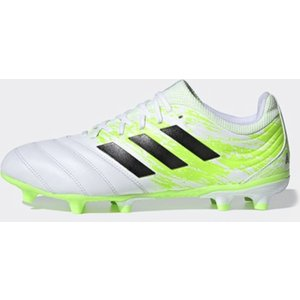 Adidas Copa 20.3 Firm Ground Football Boots Mens White/blk/green 425995 6 203162, White/Blk/Green