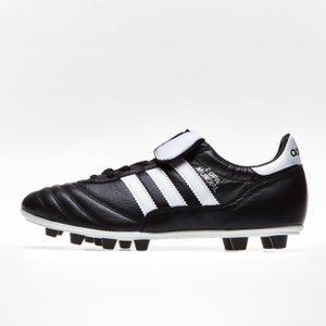Adidas Copa Mundial Fg Football Boots Black/white 1747 5 015110, Black/White