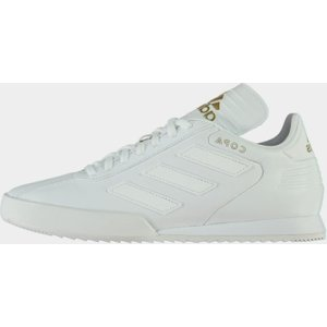 Adidas Copa Super Mens Leather Trainers Triple White 100061 9 113049, Triple White