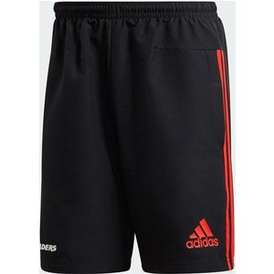 Adidas Crusaders Rugby Shorts Black/red 386909 Xs 382927, Black/Red