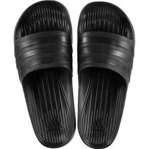 Adidas Duramo Shower Slide Flip Flops Black/black 47993 12 S77991, Black/Black