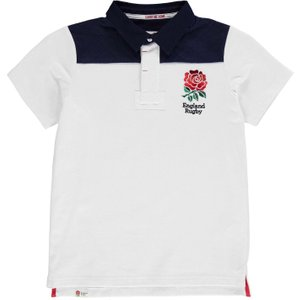Rfu England Short Sleeve Jersey Junior Boys White 150919 Lb 384576, White