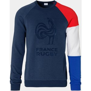 Le Coq Sportif France 2019/20 Supporters Crew Rugby Sweatshirt Blue 65759 3xl 1921952, Blue
